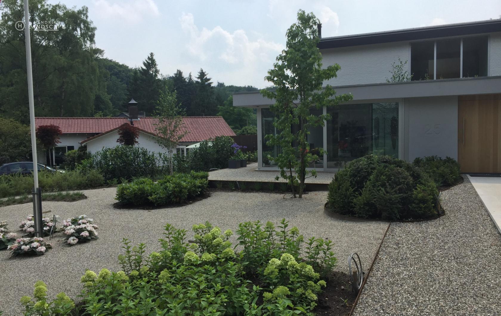 modern forest garden