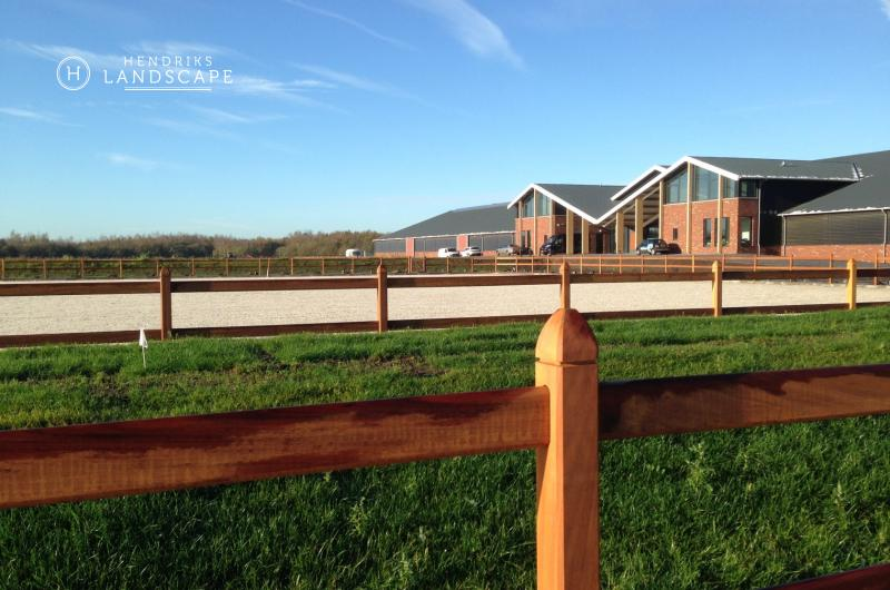 Professional equestrian stables
